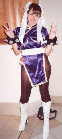 Chun Li from Street Fighter II worn by Raya
