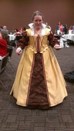 Elizabethan Woman from Original:  Historical / Renaissance