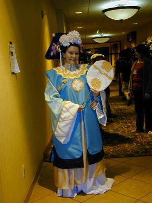 Shoukei from Twelve Kingdoms worn by Ayekasong