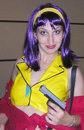 Faye Valentine from Cowboy Bebop worn by Electric Desire