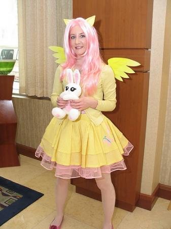 Fluttershy from My Little Pony Friendship is Magic worn by Meru