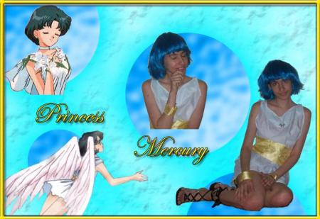 Princess Mercury from Sailor Moon worn by Dokudel