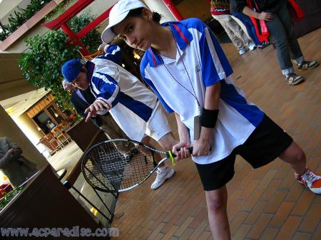 Ryoma Echizen from Prince of Tennis worn by Dokudel