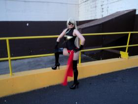 Ms. Marvel from Marvel Comics worn by Dokudel