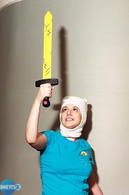 Finn from Adventure Time with Finn and Jake worn by Dokudel