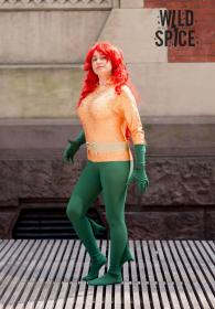 Aquawoman from DC Comics worn by Dokudel