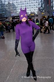 Catwoman from DC Comics worn by Dokudel