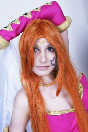 Miki from Chrono Cross worn by Dokudel