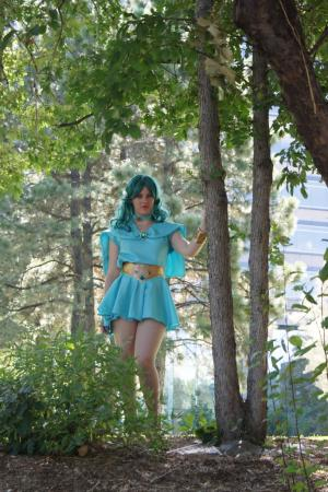Sailor Neptune from Sailor Moon worn by Yaten