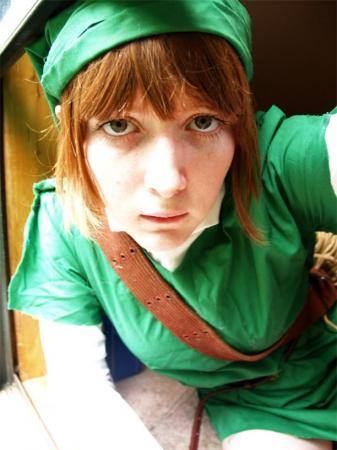 Link from Legend of Zelda worn by ComeHomeAdeline
