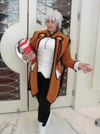 Raine Sage from Tales of Symphonia worn by Garnet Runestar
