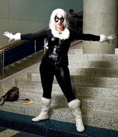 Black Cat from Spider-man worn by a/o Belldandy
