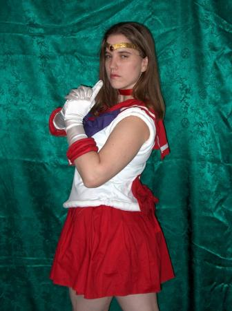 Sailor Mars from Sailor Moon worn by a/o Belldandy