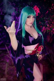 Morrigan Aensland from Cross Edge by WindoftheStars