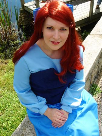 Ariel from Little Mermaid worn by Rogue