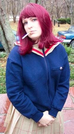 Mamimi Samejima from FLCL worn by Rogue