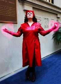 Scarlet Witch from Avengers, The worn by Rogue