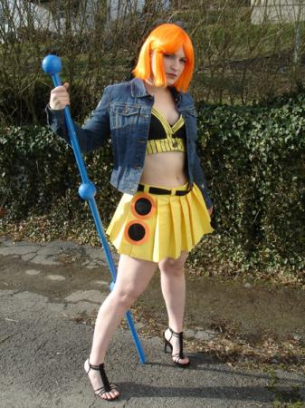 Nami from One Piece worn by Rogue