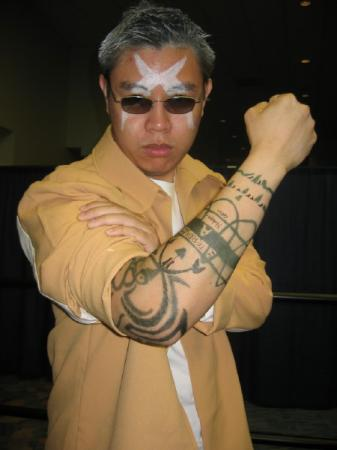 Scar from Fullmetal Alchemist worn by Genjitsu