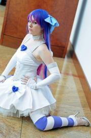 Stocking from Panty and Stocking with Garterbelt worn by Avian Firefly