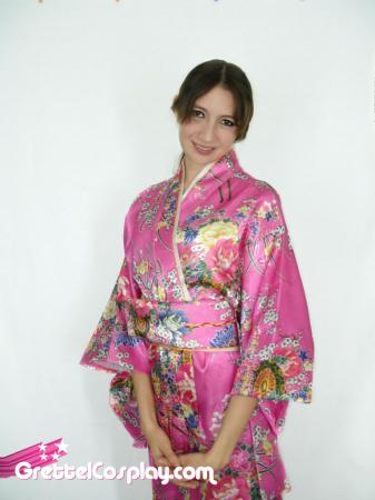 Yukata from Original:  Historical / Renaissance worn by Grettel