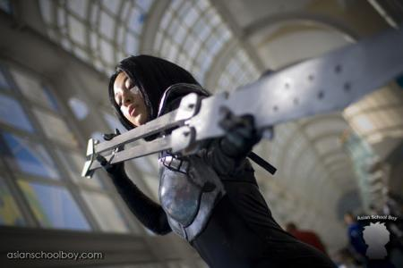 Gally / Alita from Battle Angel Alita worn by Fuji