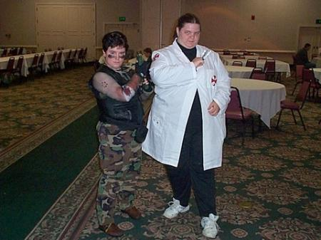 Umbrella Scientist from Resident Evil