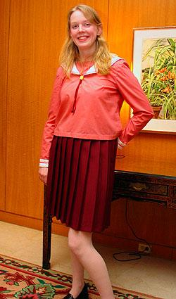 Student from Azumanga Daioh worn by Lady Altara