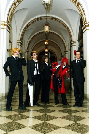 Ronald Knox from Black Butler worn by Chas