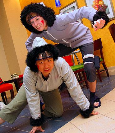 Kiba Inuzuka from Naruto worn by Chas