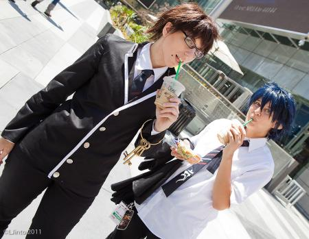 Rin Okumura from Blue Exorcist (Worn by Chas)
