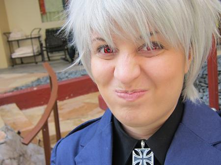 Prussia / Gilbert Weillschmidt from Axis Powers Hetalia (Worn by Chas)