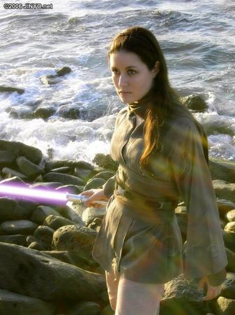 Jaina Solo from Star Wars worn by Scruffy Rebel