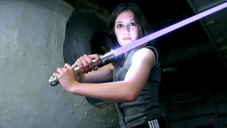 Jaina Solo from Star Wars: The New Jedi Order worn by Scruffy Rebel