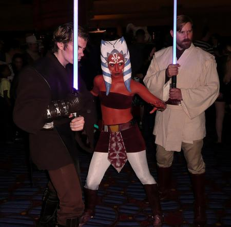 Ahsoka Tano from Star Wars: The Clone Wars worn by Scruffy Rebel