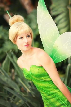 Tinker Bell from Disney Fairies worn by Scruffy Rebel