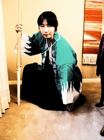 Okita Souji from Rurouni Kenshin