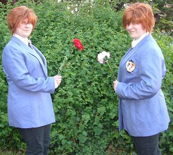 Hikaru Hitachiin from Ouran High School Host Club worn by Sailor Tweek
