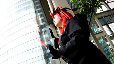 Axel from Kingdom Hearts 2