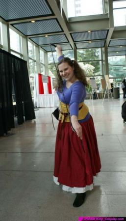 Jessica from Dragon Quest VIII worn by Sailor Tweek