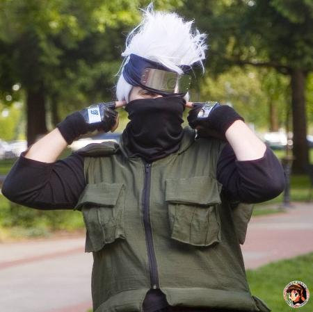 Kakashi Hatake from Naruto worn by Sailor Tweek