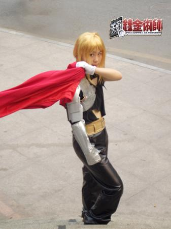 Edward Elric from Fullmetal Alchemist