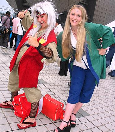 Jiraiya from Naruto worn by Sana-chan
