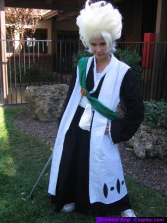 Toushiro Hitsugaya from Bleach worn by Sana-chan