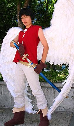Van Fanel from Vision of Escaflowne worn by Sana-chan