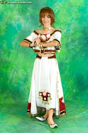 Sakura from Tsubasa: Reservoir Chronicle worn by Sana-chan