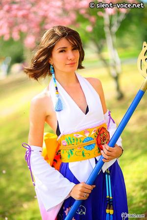 Yuna from Final Fantasy X worn by Sana-chan