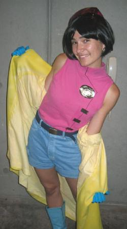 Jubilee from X-Men worn by Sana-chan