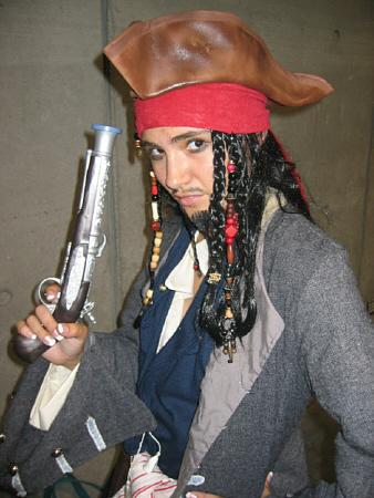 Captain Jack Sparrow from Kingdom Hearts 2 worn by Sana-chan
