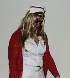 Lisa Garland from Silent Hill worn by Kira Rhian